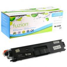 Compatible Brother TN-336 Toner Noir Fuzion (HD)