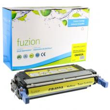 Recyclée HP CB402A (642A) Toner Jaune Fuzion (HD)