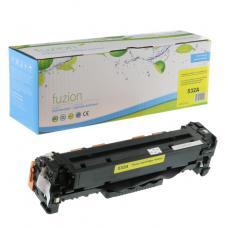 Recyclée HP CC532A Toner Jaune Fuzion (HD)