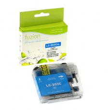 Compatible Brother LC203 XL Cyan Fuzion (HD)