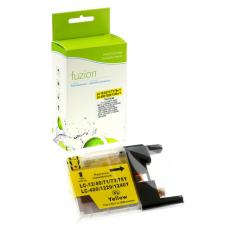 Compatible Brother LC75 XL Jaune Fuzion (HD)