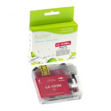 Brother LC101, LC103, XL Magenta. Compatible Fuzion (HD)